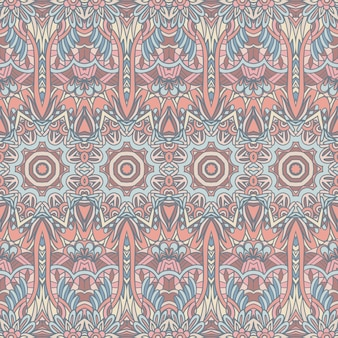 Абстрактные геометрические плиточные этнические бесшовные орнамент.