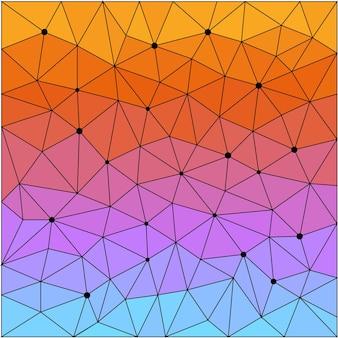 デザインカード、招待状、tシャツ、本、バナー、ポスター、スクラップブック、アルバム、テキスタイルファブリック、衣服、バッグプリントなどの抽象的な幾何学的な三角形の多角形の多角形パターンの背景。