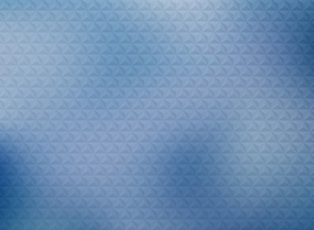 Abstract geometric triangles pattern design on gradient blue background.