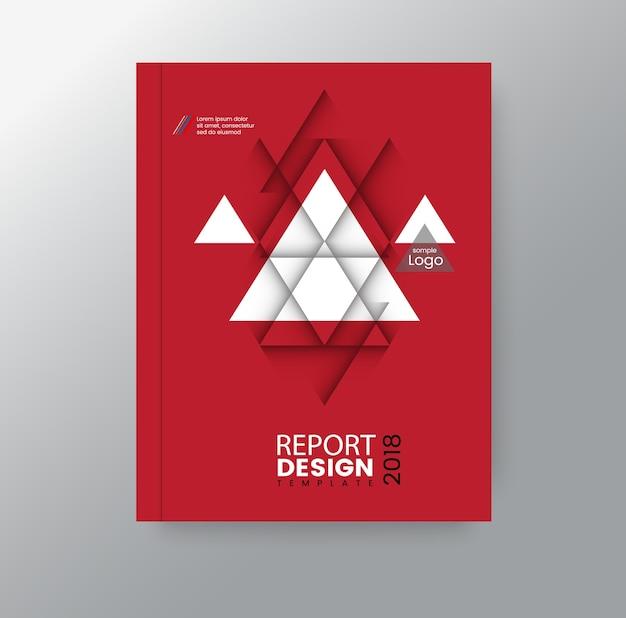 抽象的な幾何学的三角ポリゴンの企業の背景