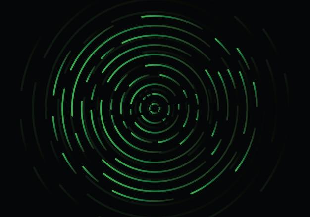 Abstract geometric vortex