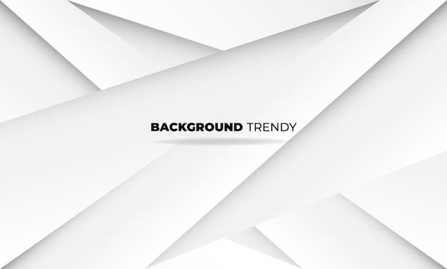 抽象的な幾何学的な白と灰色のビジュアルサプライ会社の背景