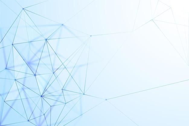 Priorità bassa geometrica astratta del wireframe