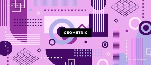 Абстрактные геометрические с фоном различных форм.