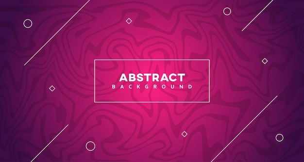 Abstract geometric with liquify texture background