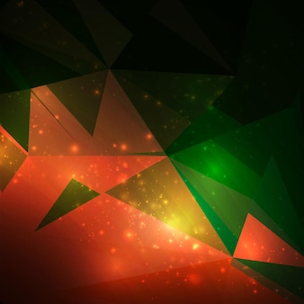 Abstract geometrical background, futuristic illustration