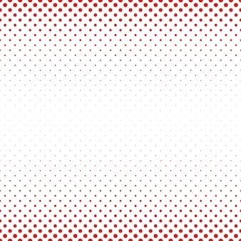 抽象的な幾何学的なハーフトーンの円のパターンの背景 - 色の点からのベクトル図