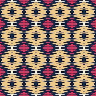 抽象的な幾何学パターンシームレスパトレン