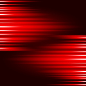 Abstract Glow Red Light Effect vector background