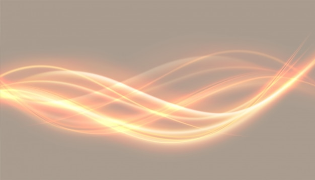 Abstract glowing lights wave effect backgroun