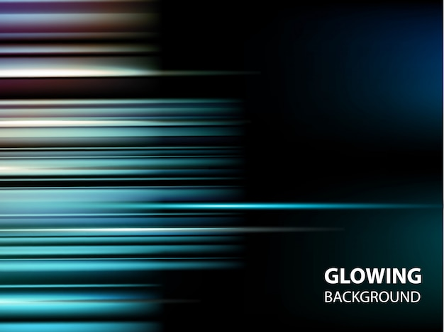 Abstract glowing modern background