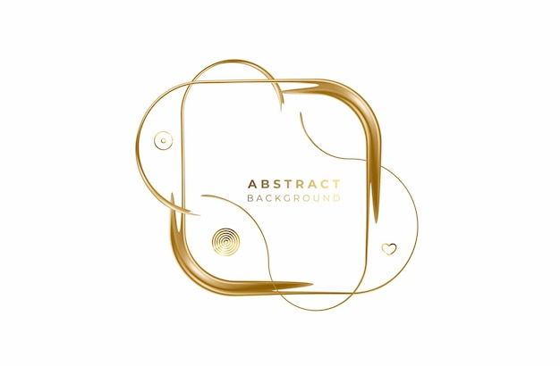 Abstract gold color pattern design and background. use for modern design, cover, poster, template, brochure, decorated, flyer, banner.