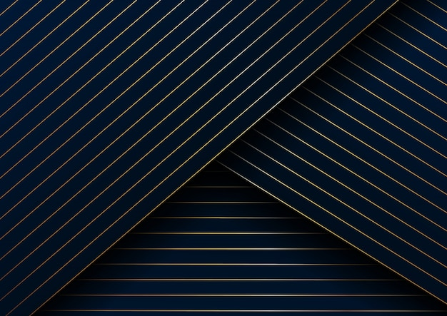 Abstract gold lines diagonal pattern background