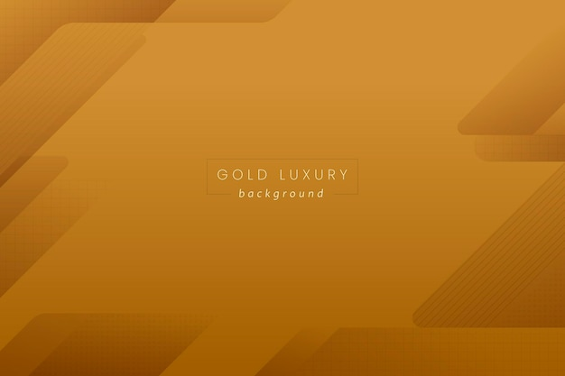 Abstract gold luxury background