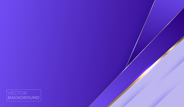 Abstract gold and purple luxury background