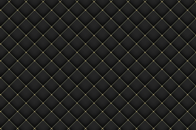 Abstract golden and black gradient pattern background design