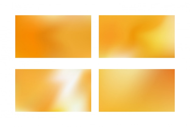 Abstract golden blurred background