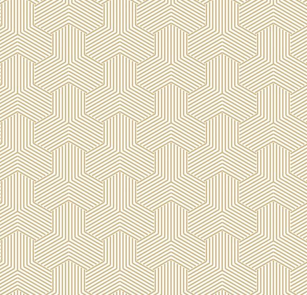추상적 인 황금 기하학적 패턴