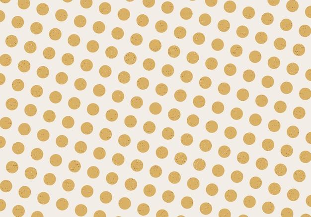 Абстрактный фон в горошек золотой блеск. векторная иллюстрация. абстрактный фон.