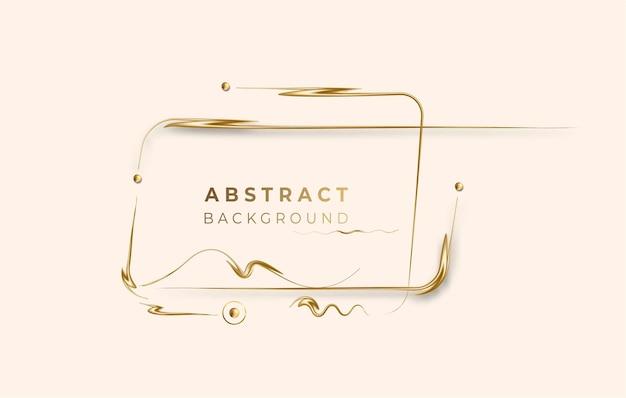 Абстрактный фон вектор золотой светящийся блестящий эффект. используйте для современного дизайна, обложки, плаката, шаблона, брошюры, украшенного, флаера, баннера.