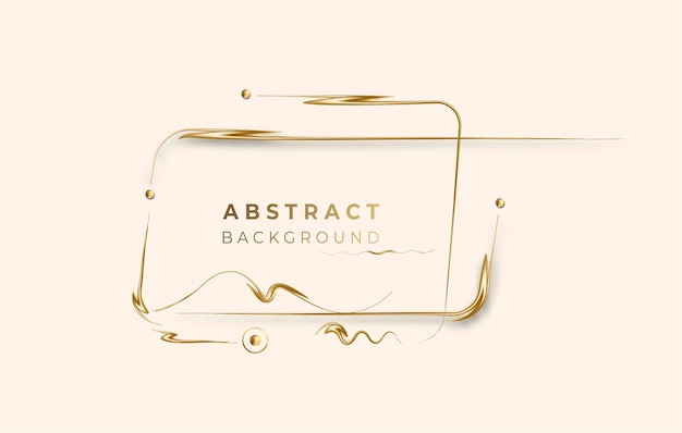 Abstract golden glowing shiny effect vector background. use for modern design, cover, poster, template, brochure, decorated, flyer, banner.