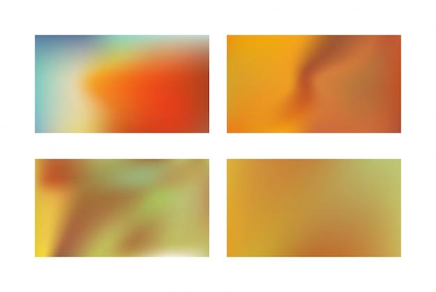 Abstract golden gradient