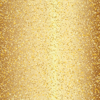 Abstract golden halftone pattern. gold polka dot background