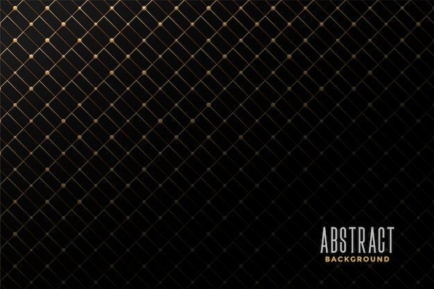 Abstract golden pattern background