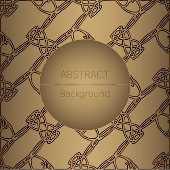 Abstract golden vector background