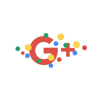 Abstract Google Plus wallpaper background