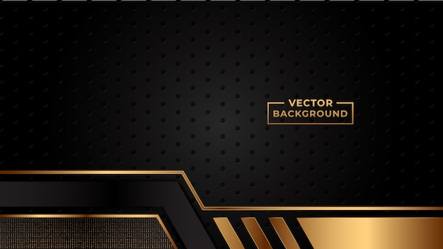 Abstract gradient background gold color