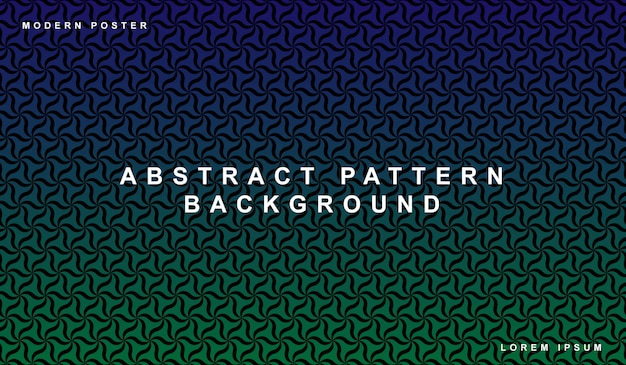 Abstract gradient background seamless pattern set decorative wallpaper