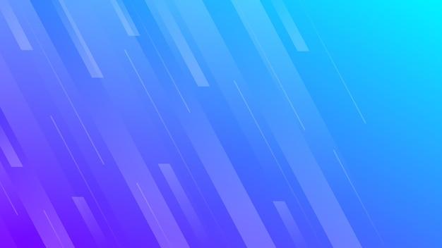 라인 추상 그라데이션 배경입니다. 배너, 템플릿, 포스터에 대 한 파란색 기하학적 현대 배경. 벡터 일러스트 레이 션.