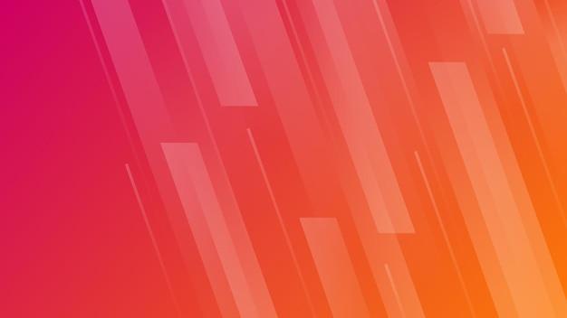 라인 추상 그라데이션 배경입니다. 배너, 템플릿, 포스터에 대 한 빨간색 기하학적 현대 배경. 벡터 일러스트 레이 션.