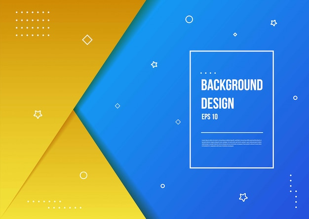 Abstract gradient background with modern geometric dynamic motion style suitable for wallpaper, banner, background, card, book illustration, landing page
