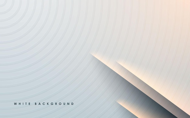 Abstract gradient background with papercut effect