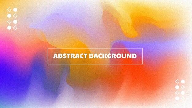 Абстрактный градиентный фон с теплым цветом