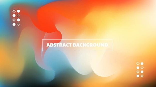 Abstract gradient background with warm and dreamy tone