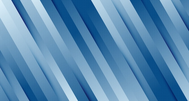ハーフトーンの装飾背景を持つ線の抽象的なグラデーションブルー。