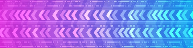 Abstract gradient blue and purple speed pattern digital background, technology arrow movement design