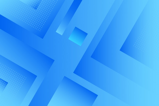 Abstract gradient blue squares background