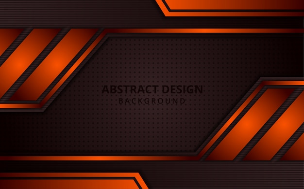 Abstract gradient brown and orange background