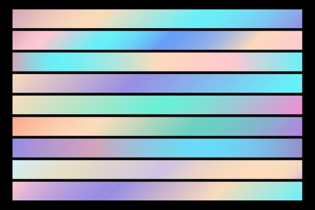 추상 그라데이션 컬러 패턴 배경입니다. 간단한 선 요소