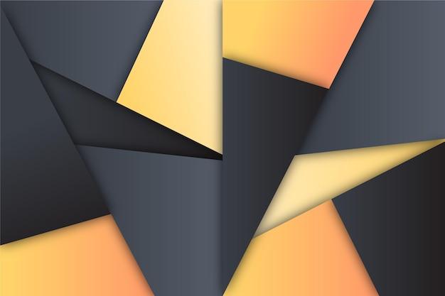 抽象的なグラデーションの幾何学的な背景
