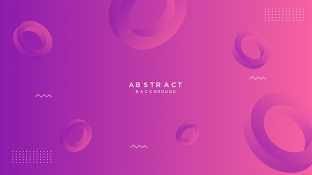 Abstract gradient geometric background