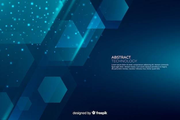Абстрактные градиентные геометрические фигуры фоном