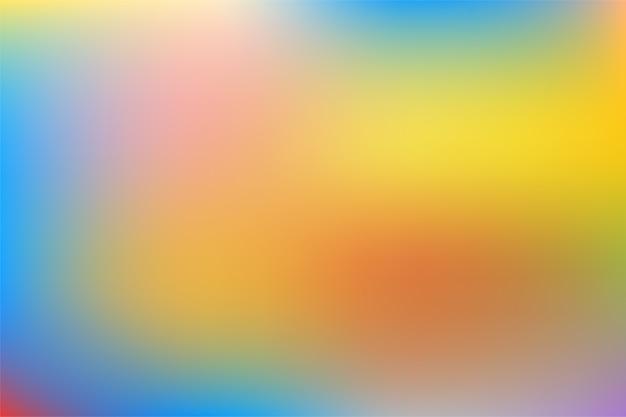 抽象的なグラデーションメッシュのぼやけた背景