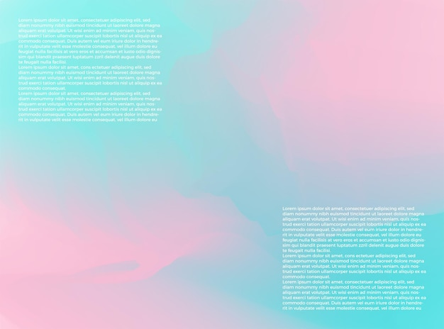抽象的なグラデーションメッシュソフトピンクブルーカラーブレンドトレンディなベクトルの背景