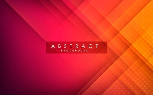 Abstract gradient orange background