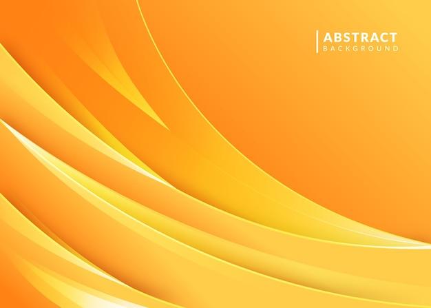 抽象的なグラデーションオレンジ色の背景